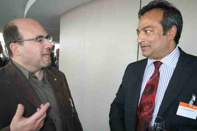 Craig Newmark and JP Rangaswami