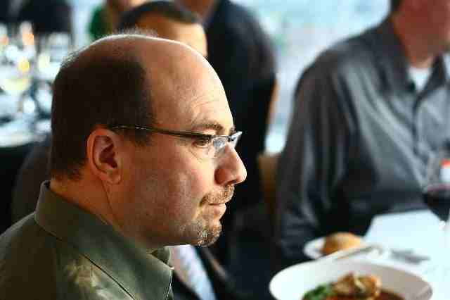 Craig Newmark at BT Dinner