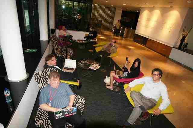 Geeks in the Guardian Lobby (6)
