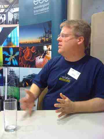 Scoble on a panel