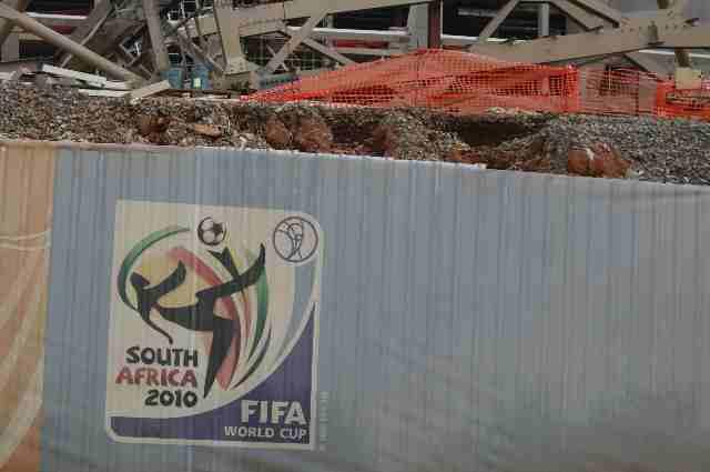 World Cup presentation outside Joburg Dec 2008.jpg