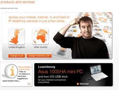 Orange on your screen